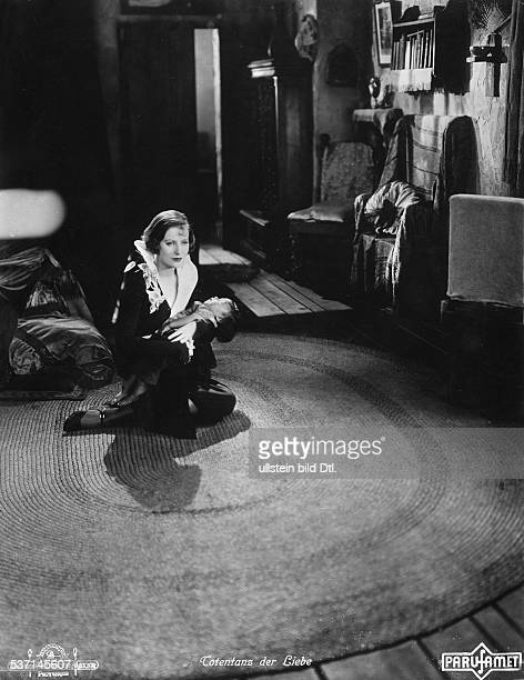 Garbo Greta Actress Sweden in the film 'The Temptress' Directed by Fred Niblo Mauritz Stiller USA 1926 Film Production MetroGoldwynMayer