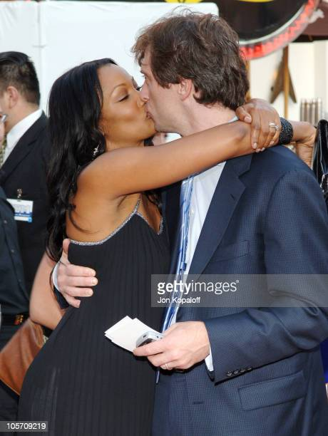 Garcelle Beauvais and husband Michael Nilon during The Perfect Man Los Angeles Premiere Arrivals at Universal Studios Cinema in Universal City...