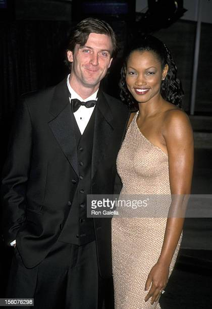 Garcelle Beauvais and Husband Mike Nilon during Museum of Television & Radio's 5th Annual Gala at Museum of Television & Radio in Beverly Hills,...