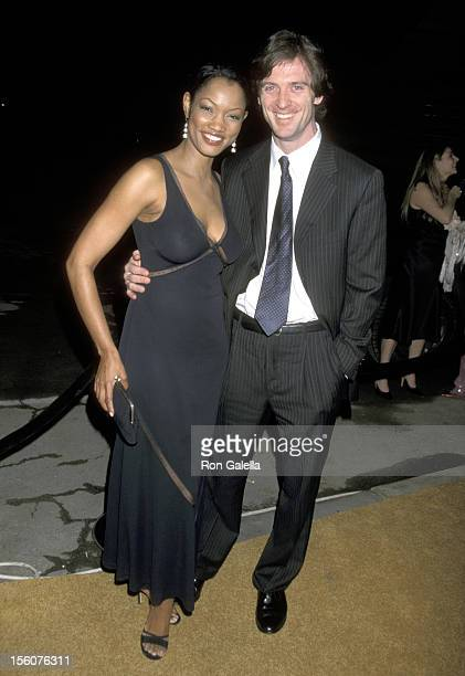 Garcelle Beauvais and Husband Mike Nilon during Opening of 'Tod's' Boutique in Hollywood at Moomba in West Hollywood, California, United States.