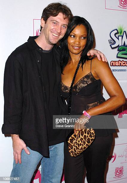 Garcelle Beauvais and husband Mike Nilon during Teen People Celebrates 2nd Annual Young Hollywood Issue Sponsored by EA Games and Baby Phat -...