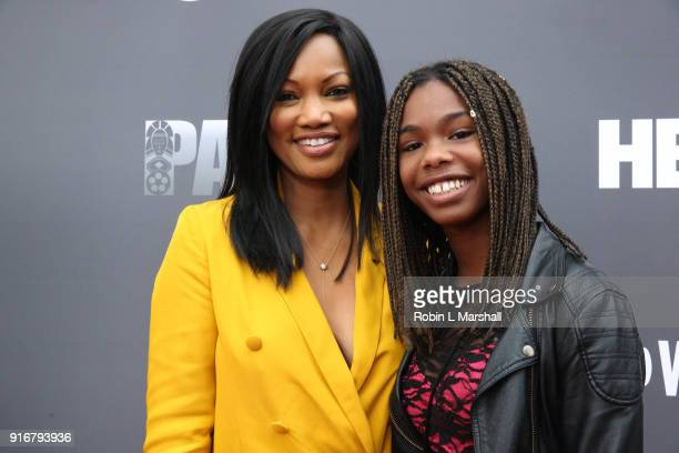 Garcelle Beauvais and Jasmin JeanLouis attends 'Lalo's House' Red Carpet Screening at Cinemark Baldwin Hills Crenshaw Plaza 15 on February 10 2018 in...