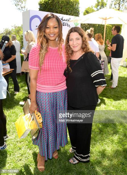 Garcelle Beauvais and Michael Stars President Suzanne Lerner attend Children Mending Hearts' 10th Annual Empathy Rocks on June 10 2018 in Los Angeles...
