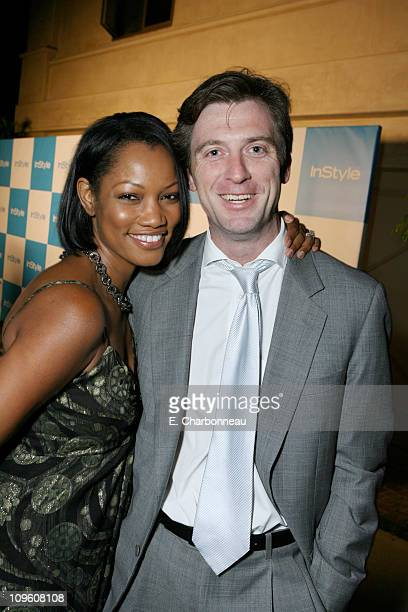 Garcelle Beauvais and Mike Nilon during In Style Magazine hosts its 6th Annual Stuck in LA Summer Soiree at Private Residence in Los Angeles CA...