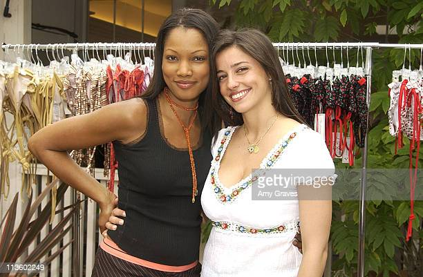 Garcelle Beauvais and Shoshanna Lonstein during Shape Up For Summer at 'The Parlour' at The Parlour in Los Angeles California United States