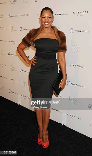 Garcelle Beauvais arrives at the 3rd Annual Autumn party at The London West Hollywood on October 17 2012 in West Hollywood California