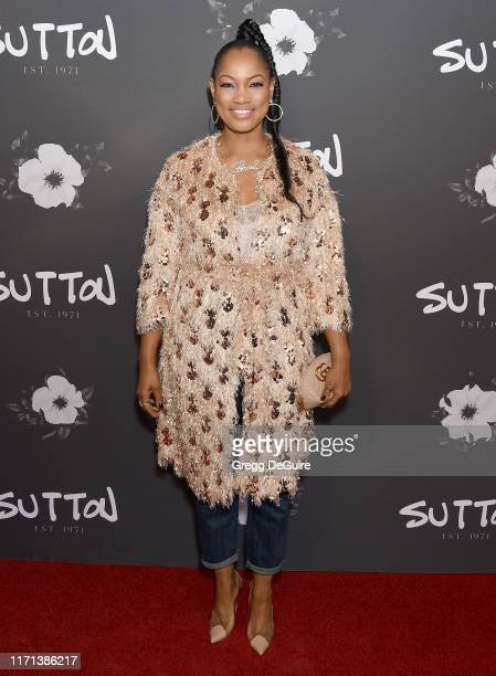 Garcelle Beauvais arrives at the SUTTON Store Launch at SUTTON on September 26 2019 in West Hollywood California