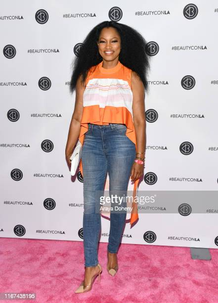 Garcelle Beauvais attends Beautycon Festival Los Angeles 2019 at Los Angeles Convention Center on August 11 2019 in Los Angeles California