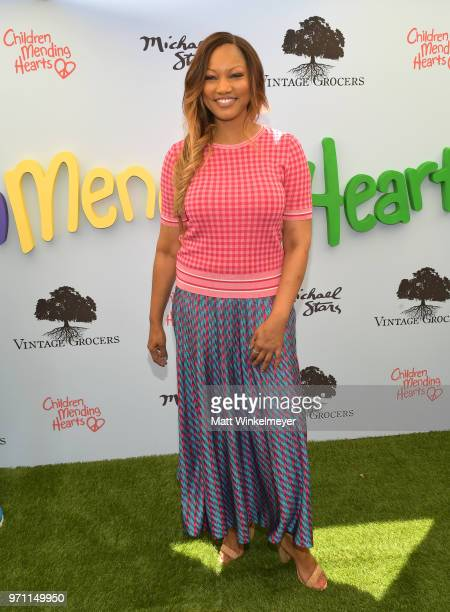 Garcelle Beauvais attends Children Mending Hearts' 10th Annual Empathy Rocks on June 10 2018 in Los Angeles California