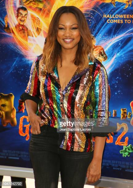 Garcelle Beauvais attends Columbia Pictures and Sony Pictures Animation's 'Goosebumps 2: Haunted Halloween' special screening at Sony Pictures...