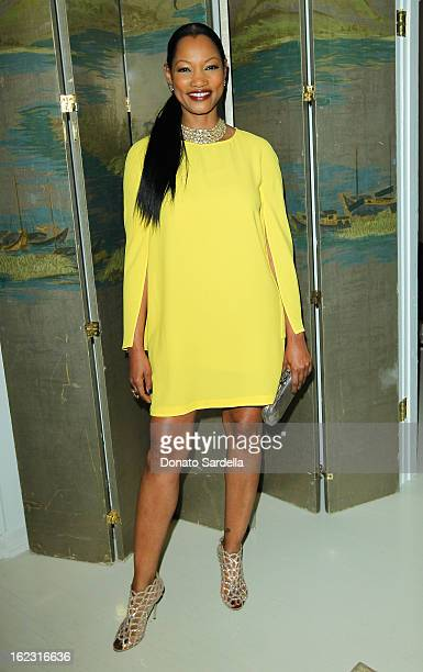 Garcelle Beauvais attends LoveGold Celebrates Fred Leighton at Chateau Marmont on February 21 2013 in Los Angeles California