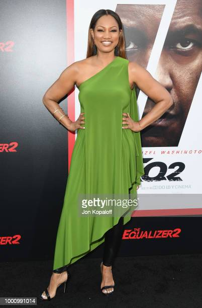 Garcelle Beauvais attends premiere of Columbia Picture's 'Equalizer 2' at TCL Chinese Theatre on July 17 2018 in Hollywood California