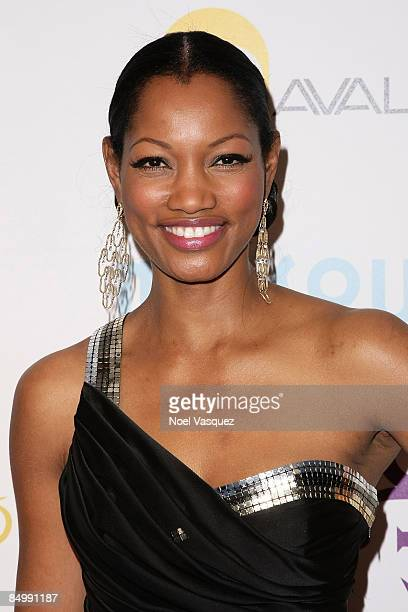 Garcelle Beauvais attends Prince's The Purple Party at The Avalon on February 22 2009 in Los Angeles California