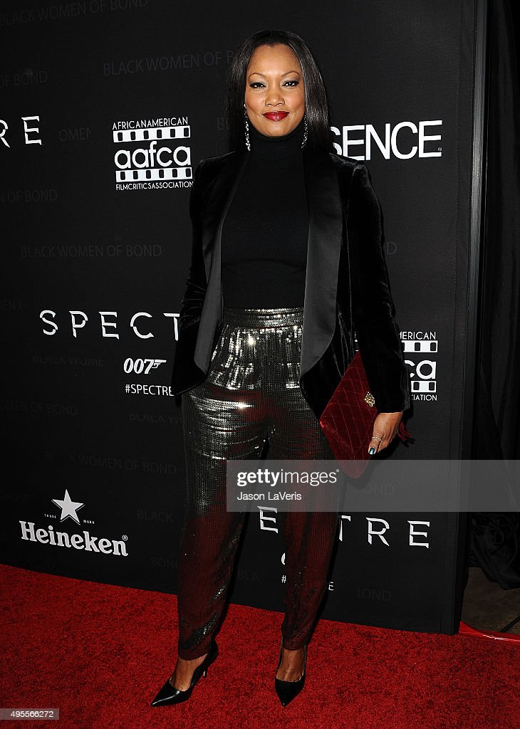 Garcelle Beauvais attends 'Spectre' - The Black Women of Bond Tribute at California African American Museum on November 3, 2015 in Los Angeles, California.