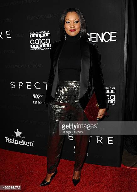 Garcelle Beauvais attends Spectre The Black Women of Bond Tribute at California African American Museum on November 3 2015 in Los Angeles California