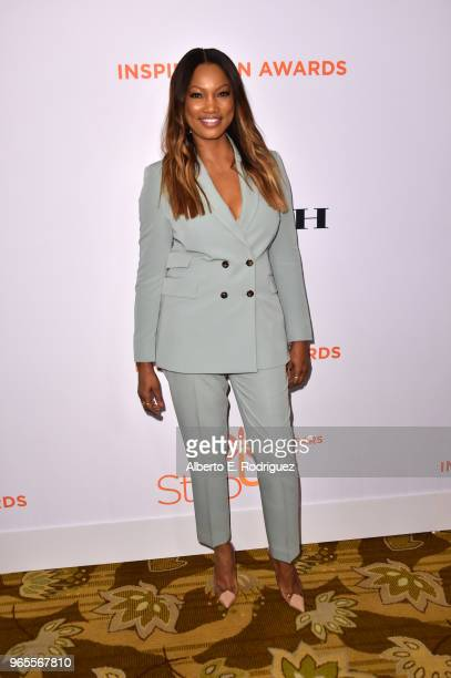 Garcelle Beauvais attends Step Up's 14th annual Inspiration Awards at the Beverly Wilshire Four Seasons Hotel on June 1 2018 in Beverly Hills...