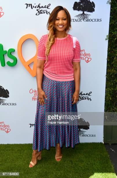 Garcelle Beauvais attends the 10th Annual Empathy Rocks Fundraiser at Private Residence on June 10 2018 in Bel Air California