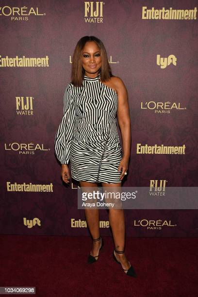 Garcelle Beauvais attends the 2018 PreEmmy Party hosted by Entertainment Weekly and L'Oreal Paris at Sunset Tower Hotel on September 15 2018 in West...
