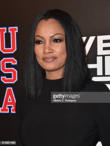 Garcelle Beauvais attends the 2018 Rookie USA Show at Milk Studios on February 15 2018 in Los Angeles California