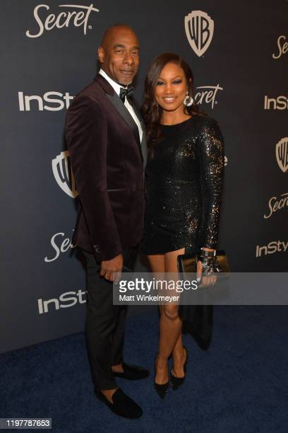Garcelle Beauvais attends The 2020 InStyle And Warner Bros 77th Annual Golden Globe Awards PostParty at The Beverly Hilton Hotel on January 05 2020...