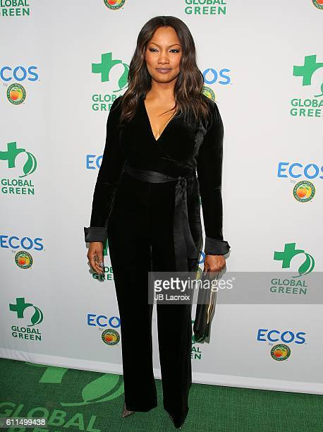 Garcelle Beauvais attends the Global Green 20th Anniversary Environmental Awards at Alexandria Ballroo on September 29 2016 in Los Angeles California