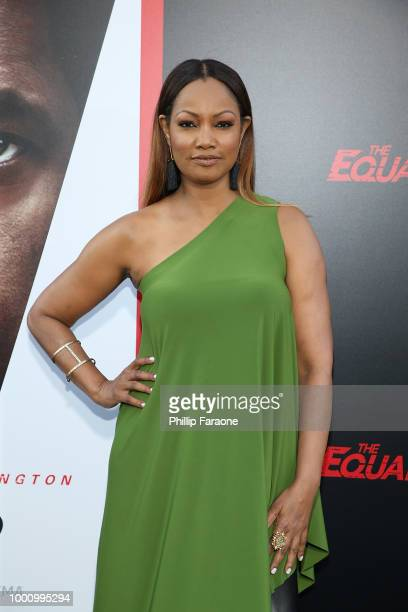 Garcelle Beauvais attends the premiere of Columbia Picture's 'Equalizer 2' at TCL Chinese Theatre on July 17 2018 in Hollywood California