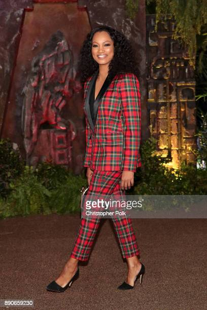 Garcelle Beauvais attends the premiere of Columbia Pictures' 'Jumanji Welcome To The Jungle' on December 11 2017 in Hollywood California