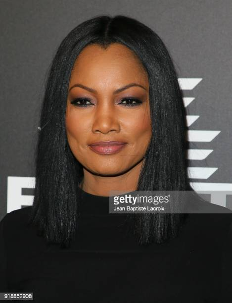 Garcelle Beauvais attends the ROOKIE USA Fashion Show at Milk Studios on February 15 2018 in Hollywood California