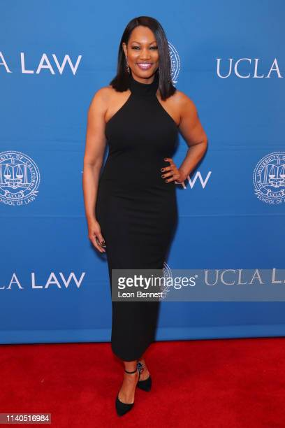 Garcelle Beauvais attends UCLA Black Law 50th Anniversary Solidarity Gala at The Beverly Hills Hotel on April 04 2019 in Beverly Hills California