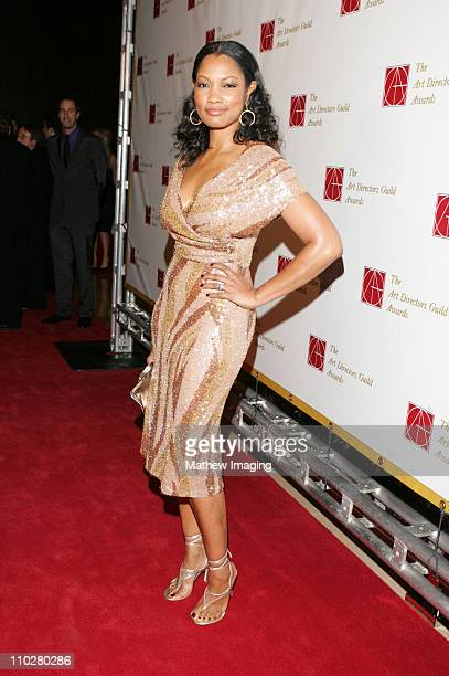 Garcelle Beauvais during 10th Annual Art Directors Guild Awards Arrivals at Beverly Hilton Hotel in Beverly Hills California United States