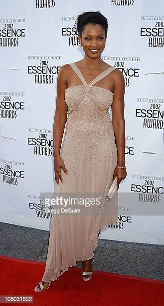 Garcelle Beauvais during 2002 Essence Awards Arrivals at Universal Amphitheater in Universal City California United States