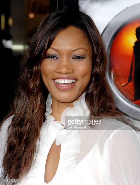 Garcelle Beauvais during Disturbia Los Angeles Premiere Arrivals at Grauman's Chinese Theater in Hollywood California United States