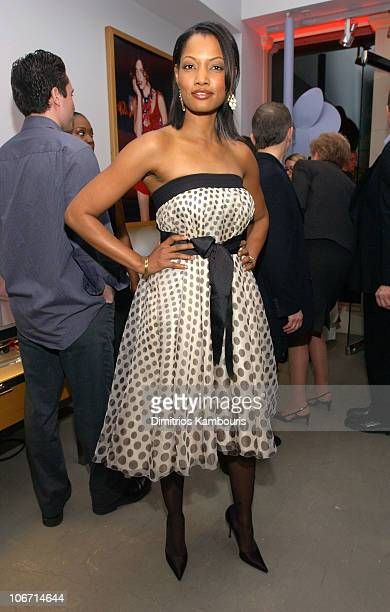 Garcelle Beauvais during Emporio Armani Celebrates Publication of Red Carpet Diaries Confessions of a Glamour Boy at Emporio Armani in Beverly Hills...