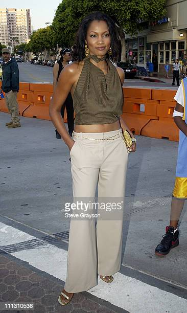 Garcelle Beauvais during Like Mike Premiere at Bruin Westwood in Westwood California United States