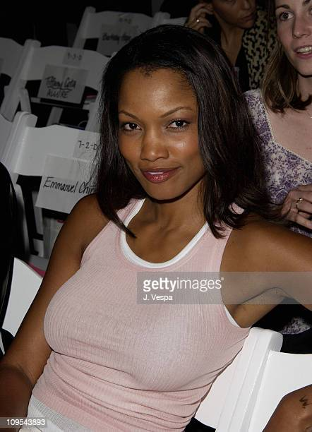 Garcelle Beauvais during Los Angeles Fashion Week Lotta 2002 Fall Collection to Benefit 'Dress for Success' at Moomba in Los Angeles California...