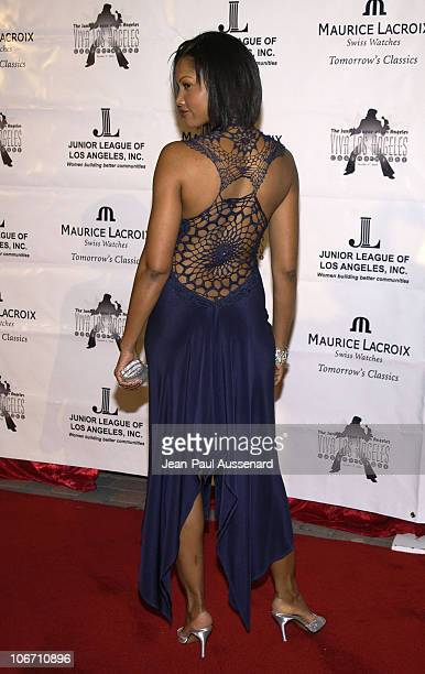 Garcelle Beauvais during Maurice Lacroix Presents The Junior League of Los Angeles Viva Los Angeles Casino Night Arrivals at Jim Henson Studios in...