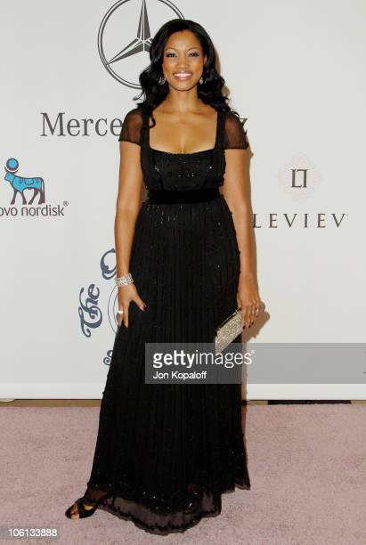 Garcelle Beauvais during MercedesBenz Presents the 17th Carousel of Hope Ball Arrivals at Beverly Hilton Hotel in Beverly Hills California United...
