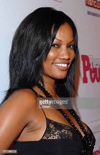 Garcelle Beauvais during Teen People Celebrates 2nd Annual Young Hollywood Issue Sponsored by EA Games and Baby Phat Red Carpet at Cabana Club in...