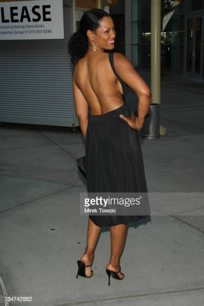 Garcelle Beauvais during The Lake House Los Angeles Premiere Arrivals at Arclight Cinerama Dome in Hollywood California United States