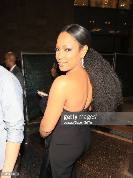 Garcelle Beauvais is seen on January 29 2018 in Los Angeles California