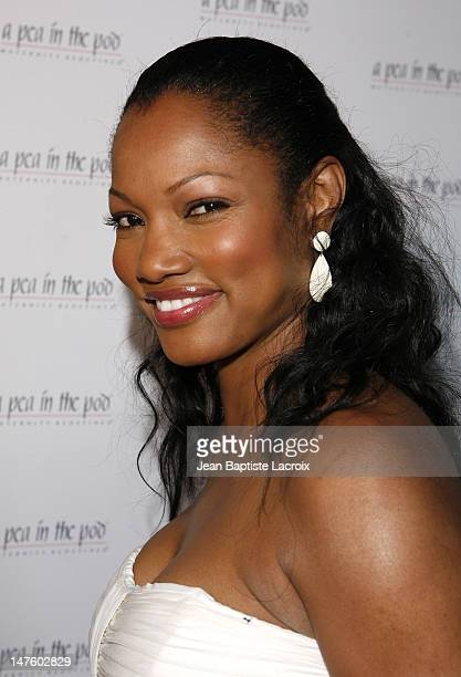 Garcelle Beauvais Nilon arrives at A Pea in the Pod Fashion Show and Book Party for the Hot Moms Club on April 2 2008 at Pea in the Pod in Beverly...