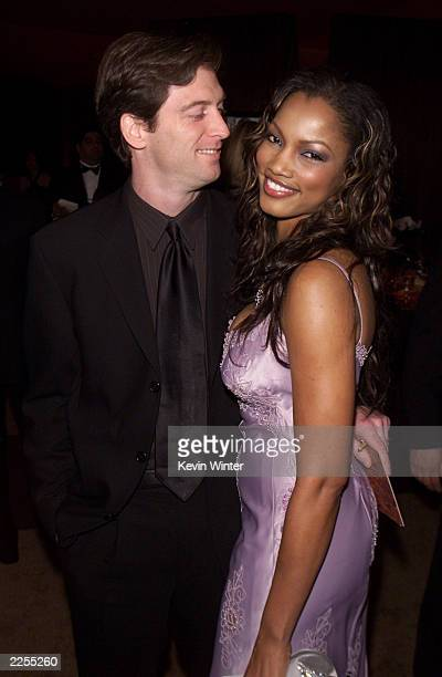 Garcelle Beauvais-Nilon and her husband Mike Nilon at the In Style/Warner Bros. Post-Golden Globes party at the Beverly Hilton Hotel, Beverly Hills,...