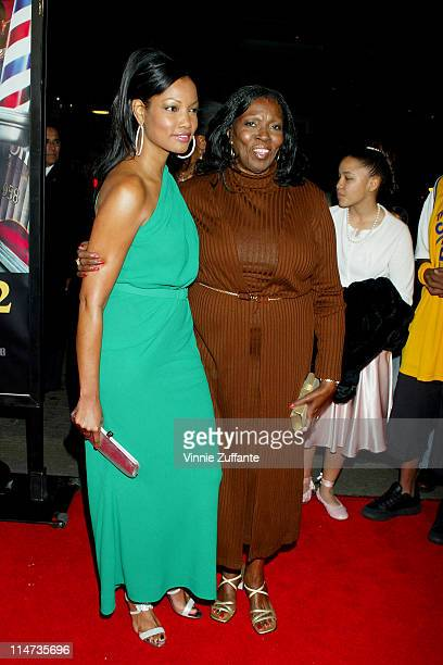 Garcelle BeauvaisNilon and her mother Marie Claire attending the Barbershop 2 Back in Business premiere Grauman's Chinese Theatre in Hollywood Ca...