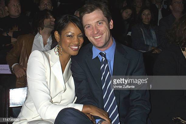 Garcelle BeauvaisNilon and husband attending the Richard Tyler Show at the MercedesBenz Shows LA Fashion Week Spring 2004 held at The Standard...