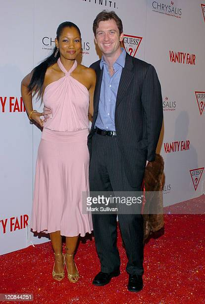 Garcelle Beauvais-Nilon and husband Mike Nilon during Vanity Fair Amped - Arrivals at The Hollywood Roosevelt Hotel in Hollywood, California, United...