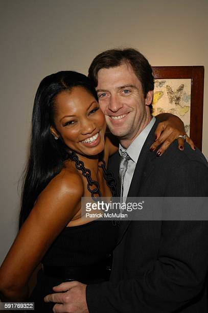 Garcelle Beauvais-Nilon and Mike Nilon attend Elisabeth Rohm and 7th on Sixth host Hurricane Relief Benefit on occasion of artist Hunt Slonem's new...