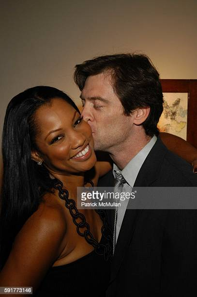 Garcelle BeauvaisNilon and Mike Nilon attend Elisabeth Rohm and 7th on Sixth host Hurricane Relief Benefit on occasion of artist Hunt Slonem's new...