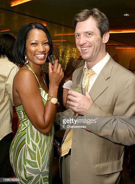 "Garcelle Beauvais-Nilon and Mike Nilon during Prada Celebrates the Los Angeles Opening of ""Waist Down - Skirts by Miuccia Prada"" at Prada in Los..."