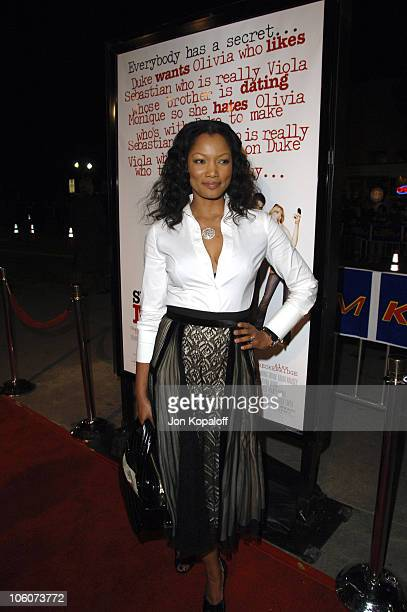 """Garcelle Beauvais-Nilon during DreamWorks' """"She's the Man"""" Los Angeles Premiere - Red Carpet at Mann's Village in Westwood, California, United States."""