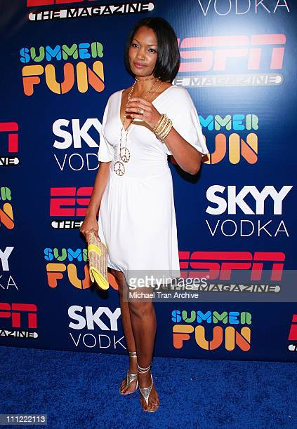 Garcelle BeauvaisNilon during ESPN The Magazine Presents Summer Fun 2006 Arrivals at The Roosevelt Hotel in Hollywood California United States